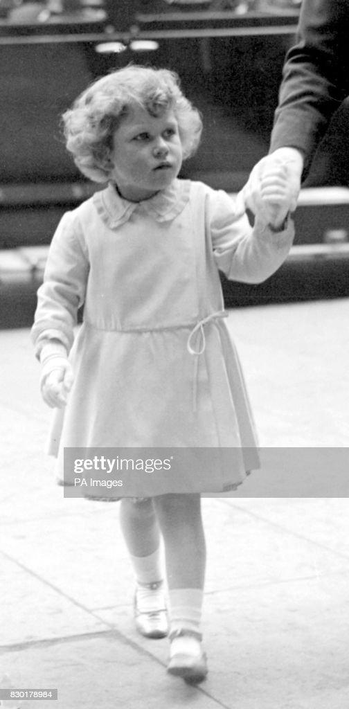 Royalty - Princess Elizabeth -  Royal Tournament - London : News Photo