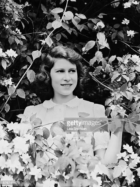 Princess Elizabeth at Windsor Castle UK 8th July 1941