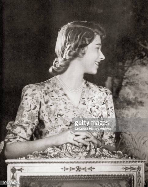 Princess Elizabeth future Elizabeth II born 1926 Queen of the United Kingdom Canada Australia and New Zealand Seen here on her 18th birthday in 1944...
