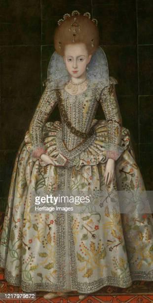 Princess Elizabeth Later Queen of Bohemia circa 1606 Artist Robert Peake I
