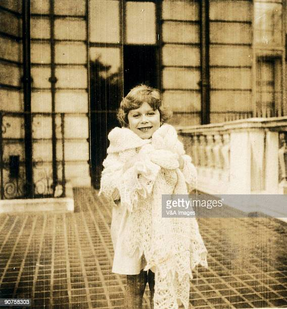 Princess Elizabeth now Queen Elizabeth II One of a selection of images from a family album taken in 19291930 '