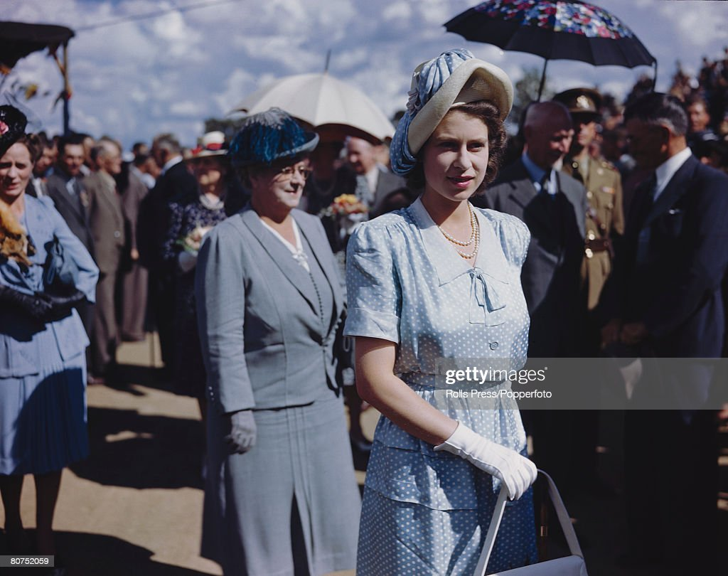 Princess Elizabeth On Royal Tour Of South Africa : News Photo