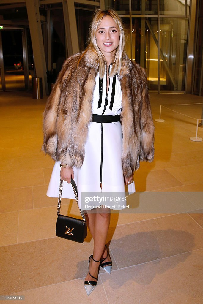 Princess Elizabeth Von Turn und Taxis attends the 'Fondation Claude Pompidou' : Charity Party at Fondation Louis Vuitton on December 16, 2014 in Paris, France.
