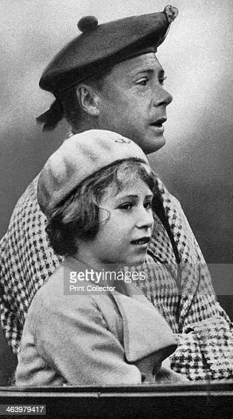 Princess Elizabeth with her uncle David c1936 The future Queen Elizabeth II with her uncle who was briefly King Edward VIII until his abdication...