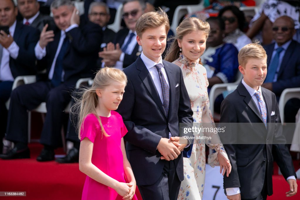 National Day Of Belgium 2019 : News Photo