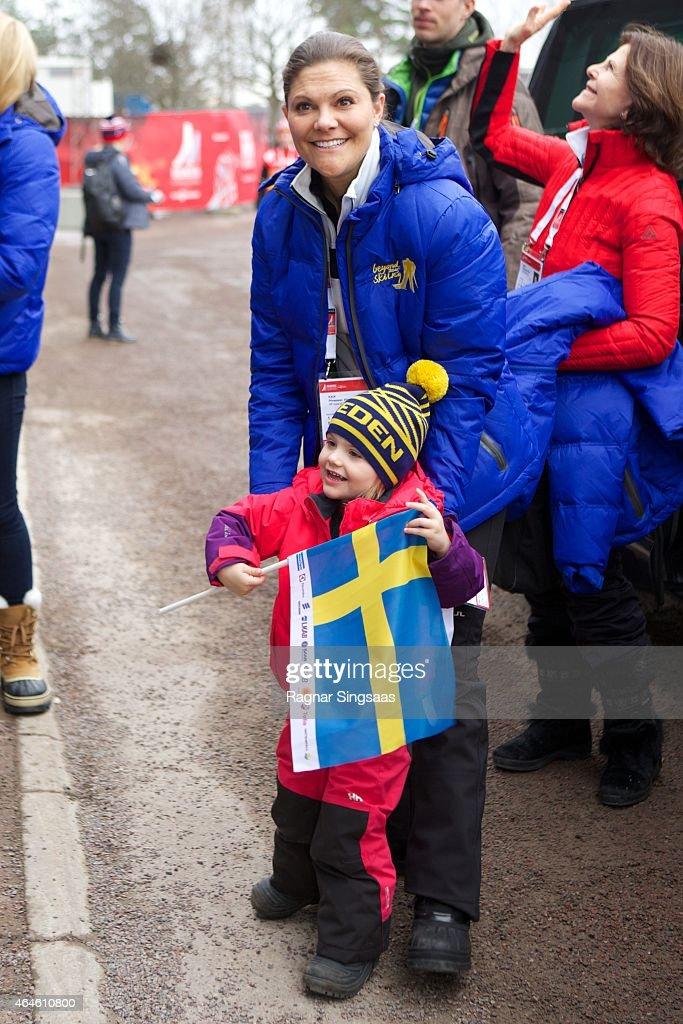 Swedish Royals Attend World Ski Championships in Falun - Day 1 : News Photo