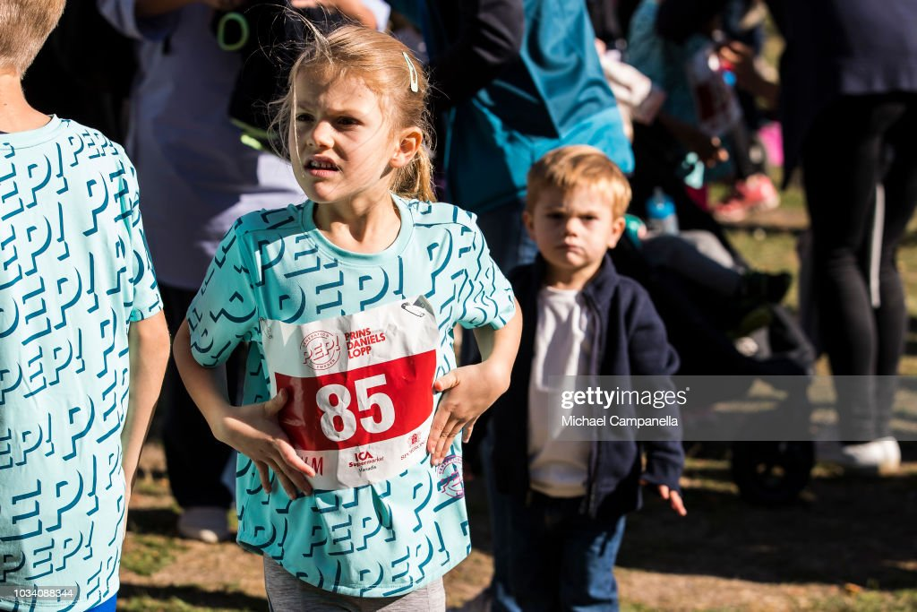 Prince Daniel Of Sweden Attends Prince Daniel's Race and Pep Day : News Photo