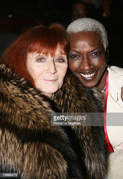 Princess Esther Kamatari and French fashion designer Sonia Rykiel attend The First Global Summit On Cervical Cancer on March 22nd 2007 at the UNESCO...