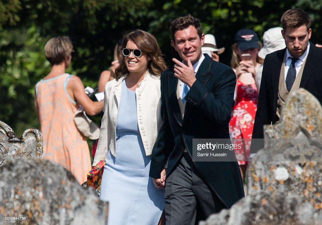 Charlie Van Straubenzee Wedding : News Photo