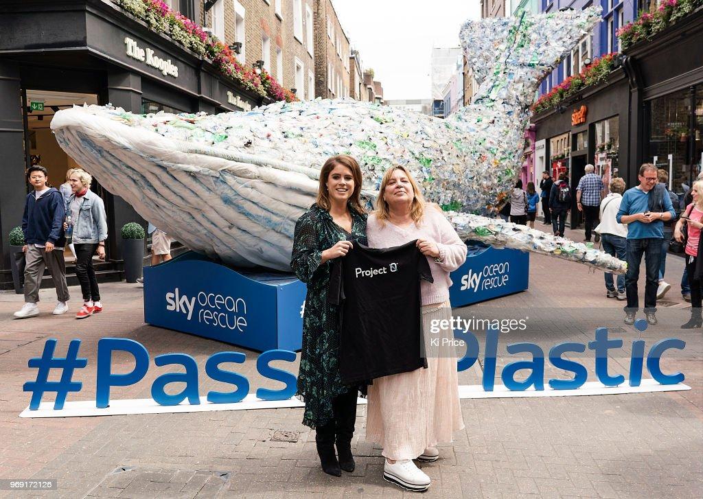 Pass On Plastic Photocall : Nachrichtenfoto