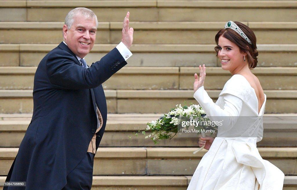 Princess Eugenie Of York Marries Mr. Jack Brooksbank : ニュース写真