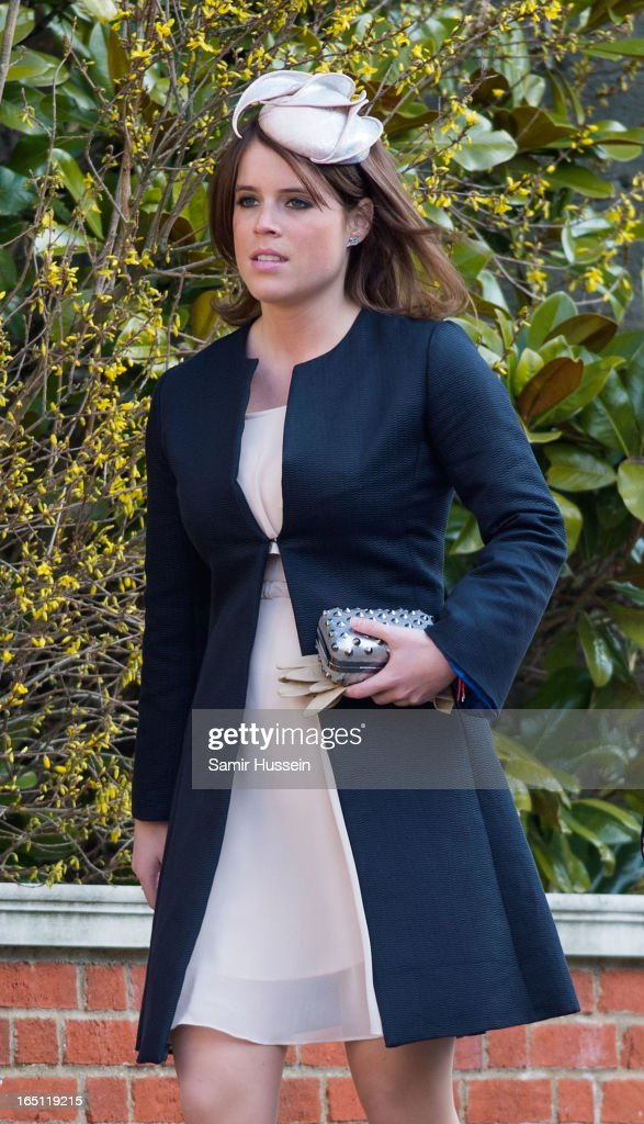 Members Of The British Royal Family Attend Church On Easter Sunday : News Photo