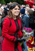 kings lynn england princess eugenie attends