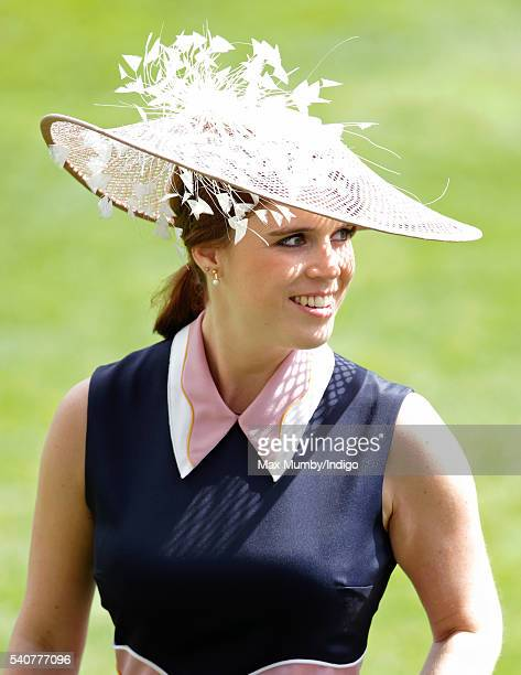 Princess Eugenie attends day 3 'Ladies Day' of Royal Ascot at Ascot Racecourse on June 16 2016 in Ascot England