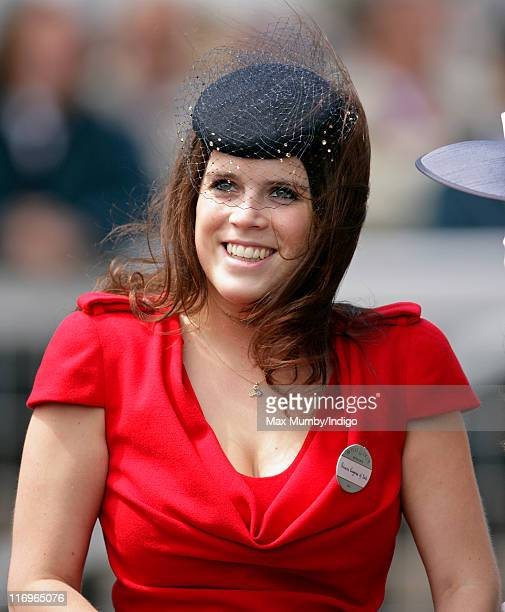 Princess Eugenie attends day five of Royal Ascot at Ascot Racecourse on June 18 2011 in Ascot United Kingdom