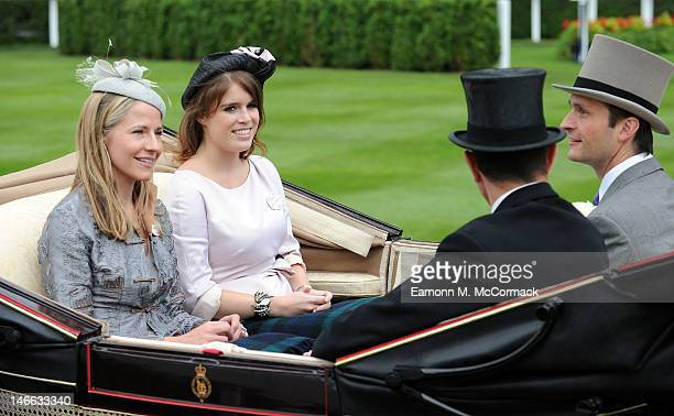 Princess Eugenie attends Ladies Day at Royal Ascot at Ascot Racecourse on June 21 2012 in Ascot England