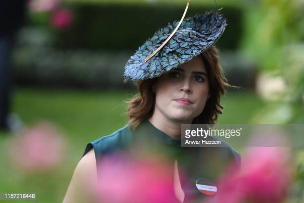 Princess Eugenie attends Ladies Day at Royal Ascot on June 20, 2019 in Ascot, England.