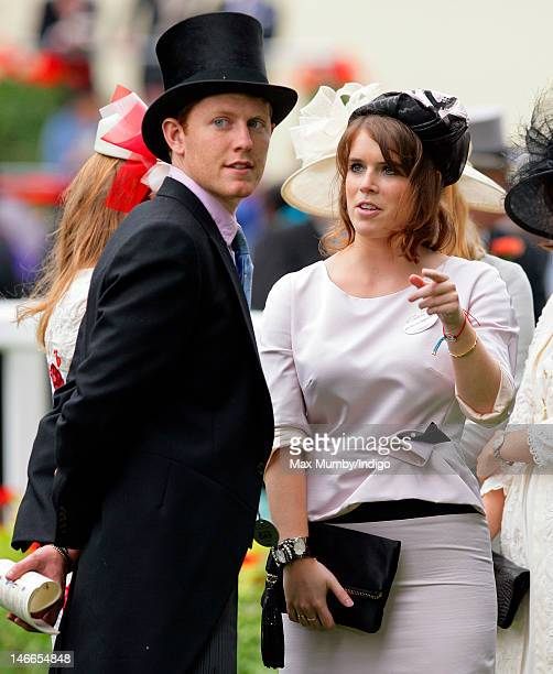 Princess Eugenie attends Ladies Day during Royal Ascot at Ascot Racecourse on June 21 2012 in Ascot England