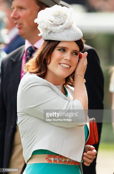 Princess Eugenie attends Ladies Day of Royal Ascot at Ascot Racecourse on June 20 2013 in Ascot England
