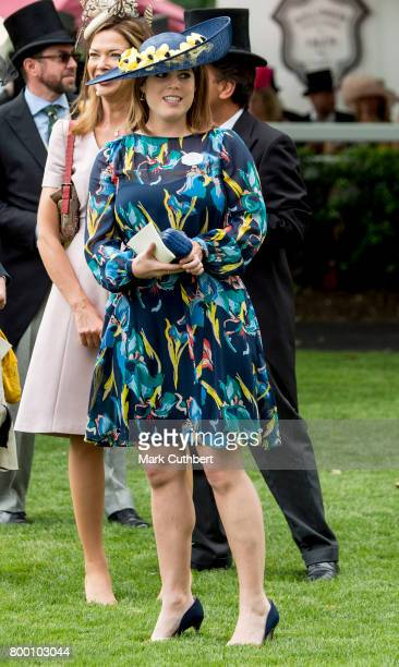 Princess Eugenie attends Royal Ascot 2017 at Ascot Racecourse on June 23 2017 in Ascot England