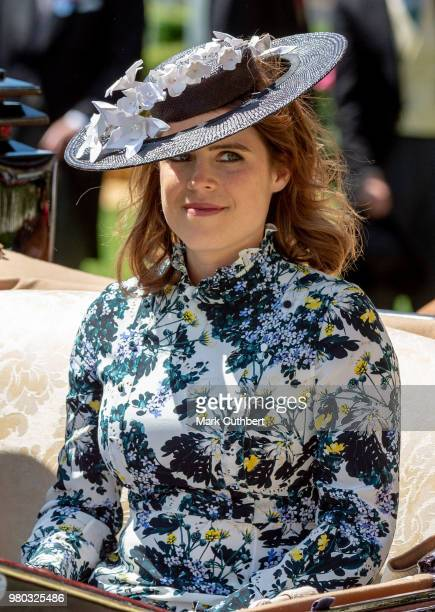 Princess Eugenie attends Royal Ascot Day 3 at Ascot Racecourse on June 21 2018 in Ascot United Kingdom