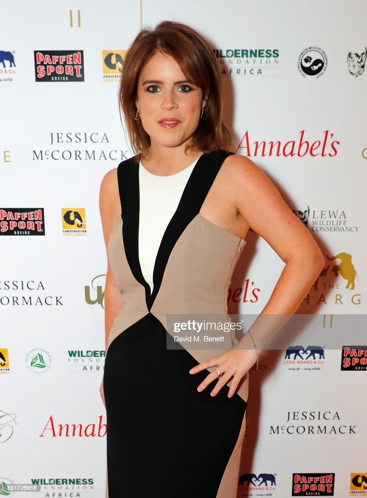 Princess Eugenie attends The Charge II boxing fundraiser at The Lindley Hall on December 13, 2017 in London, England.