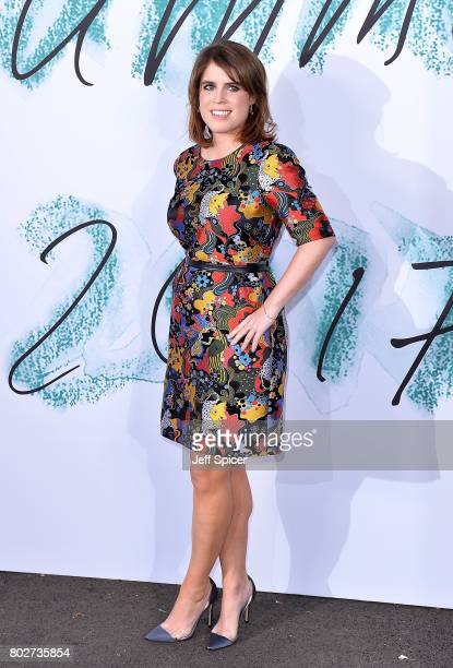 Princess Eugenie attends The Serpentine Galleries Summer Party at The Serpentine Gallery on June 28 2017 in London England
