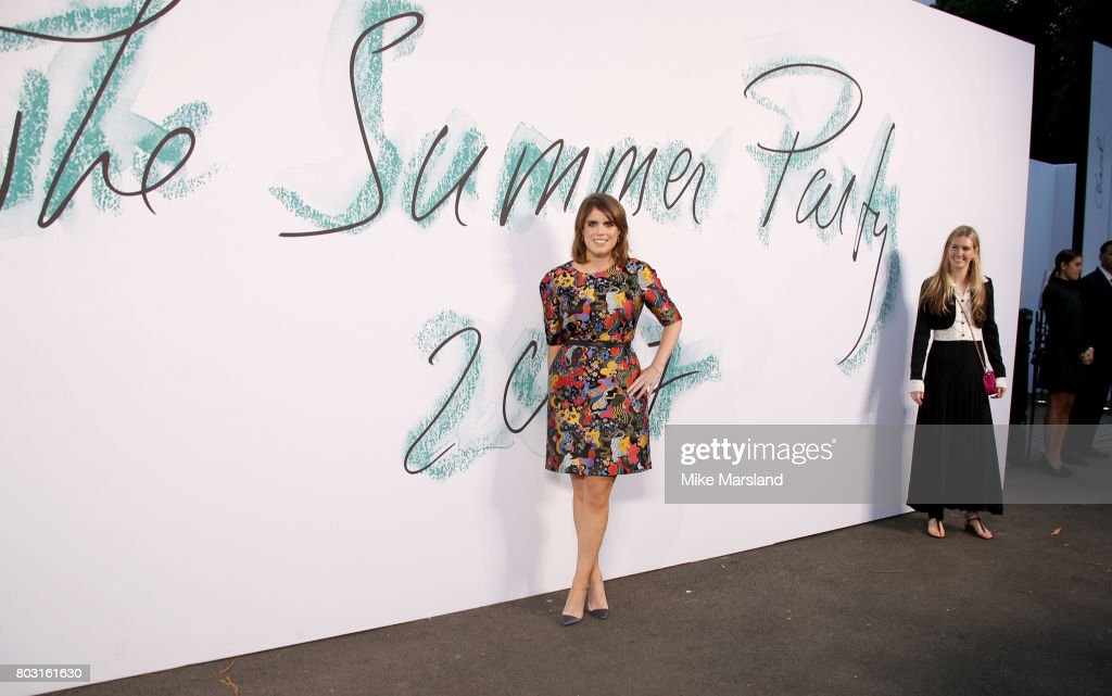 Princess Eugenie attends The Serpentine Galleries Summer Party at The Serpentine Gallery on June 28, 2017 in London, England.