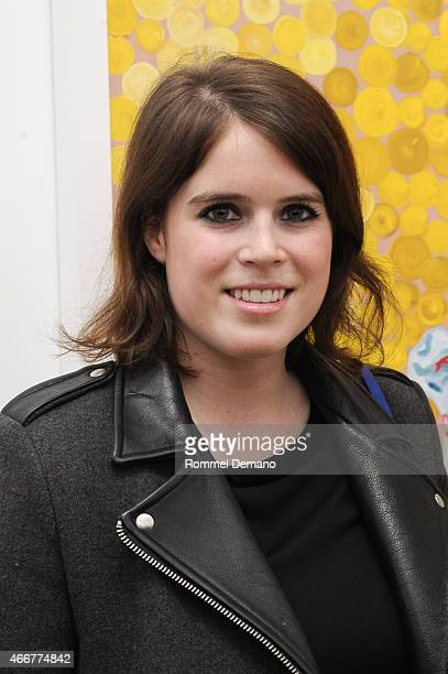 Princess Eugenie attends the Tali Lennox Exhibition Opening Reception at Catherine Ahnell Gallery on March 18 2015 in New York City