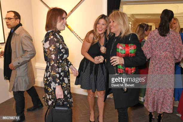 Princess Eugenie of York, Alexandra Chong and Joan Templeman attend the Warrior Games Exhibition VIP preview party sponsored by Chantecaille and...