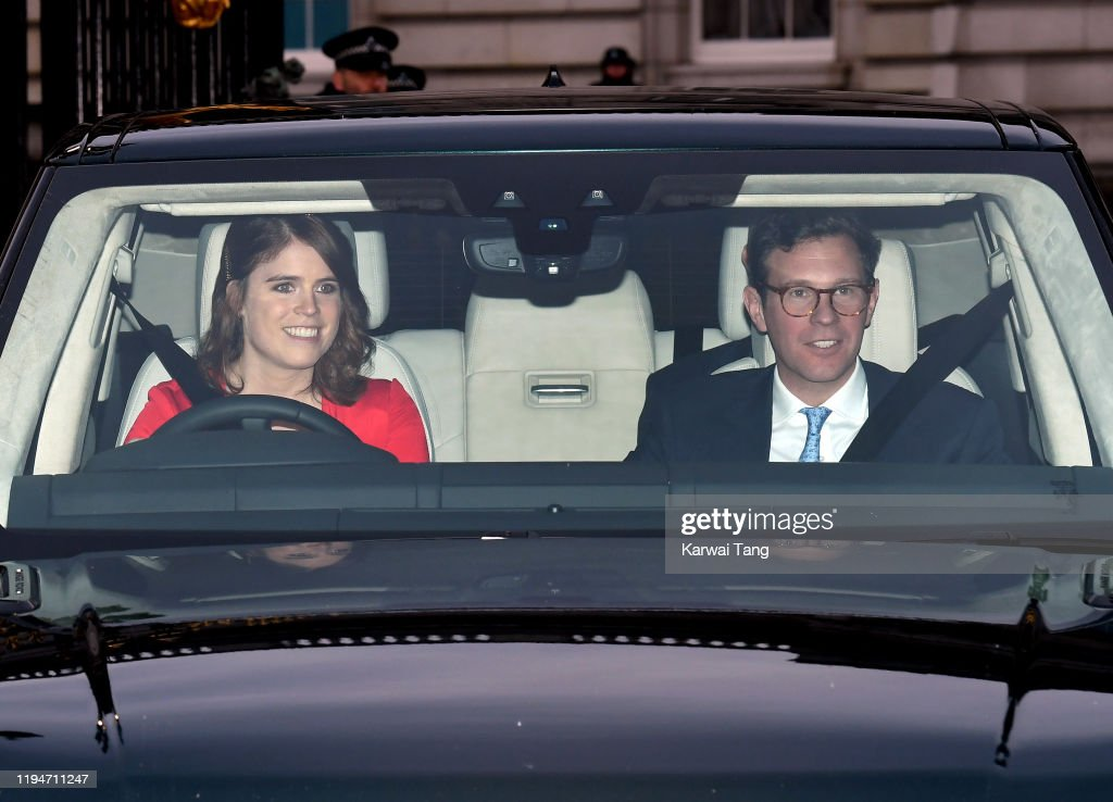 Royal Family Attend Christmas Lunch At Buckingham Palace : News Photo