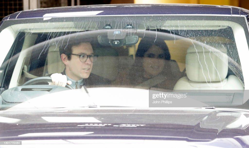 Princess Eugenie And Jack Brooksbank Announce The Birth Of Their First Child : Fotografía de noticias