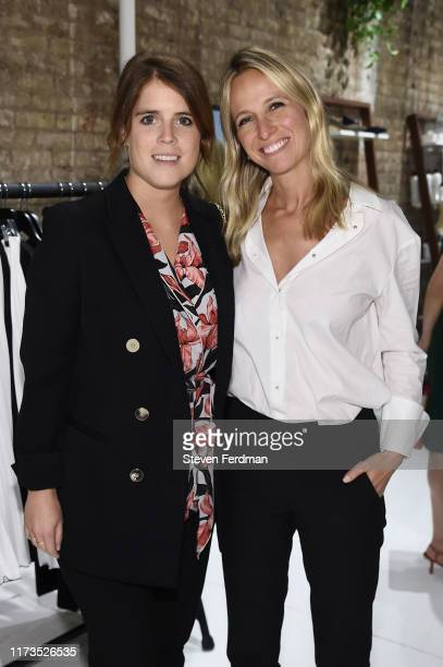 Princess Eugenie of York and Misha Nanoo attend Misha Nonoo Pop-Up Launch Event on September 09, 2019 in New York City.