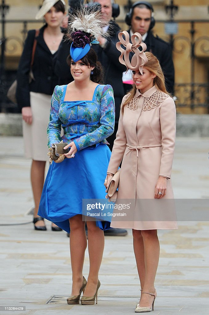 Royal Wedding - Wedding Guests And Party Make Their Way To Westminster Abbey : Foto jornalística