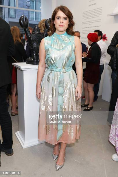 Princess Eugenie of York at the Animal Ball Art Show Private Viewing presented by Elephant Family on May 22 2019 in London England