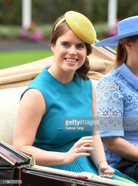 Princess Eugenie of York attends day one of Royal Ascot at Ascot Racecourse on June 18, 2019 in Ascot, England.