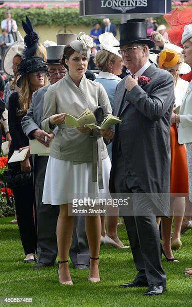 Princess Eugenie of York attends day three of Royal Ascot at Ascot Racecourse on June 19 2014 in Ascot England