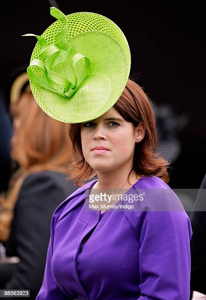 HRH Princess Eugenie of York attends Ladies Day at Royal Ascot at Ascot Racecourse on June 18 2009 in Ascot England