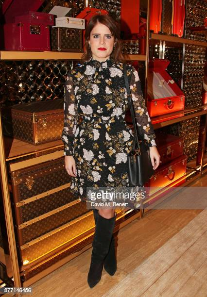 Princess Eugenie of York attends Louis Vuittons Celebration of GingerNutz in Vogue's December Issue on November 21 2017 in London England