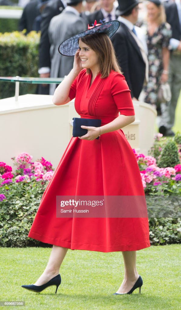 Princess Eugenie of York attends Royal Ascot 2017 at Ascot Racecourse on June 22, 2017 in Ascot, England.