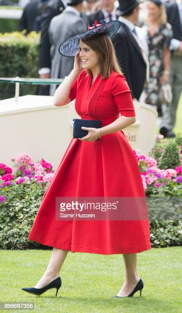 Princess Eugenie of York attends Royal Ascot 2017 at Ascot Racecourse on June 22 2017 in Ascot England
