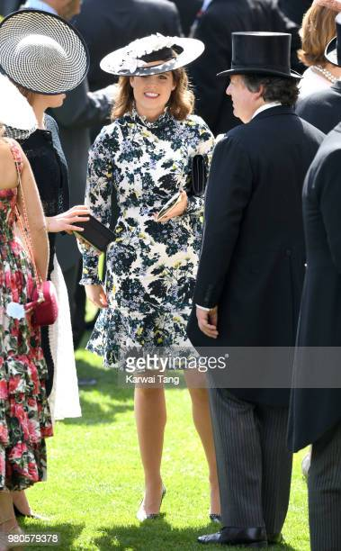 Princess Eugenie of York attends Royal Ascot Day 3 at Ascot Racecourse on June 21 2018 in Ascot United Kingdom