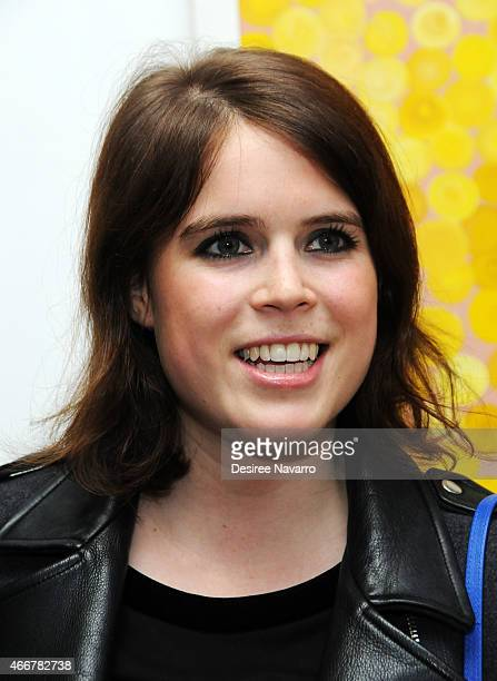 Princess Eugenie of York attends Tali Lennox Exhibition Opening Reception at Catherine Ahnell Gallery on March 18 2015 in New York City