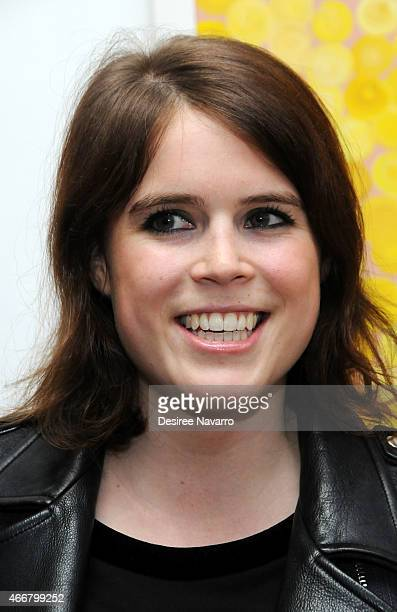 Princess Eugenie of York attends Tali Lennox Exhibition Opening Reception at Catherine Ahnell Gallery on March 18, 2015 in New York City.