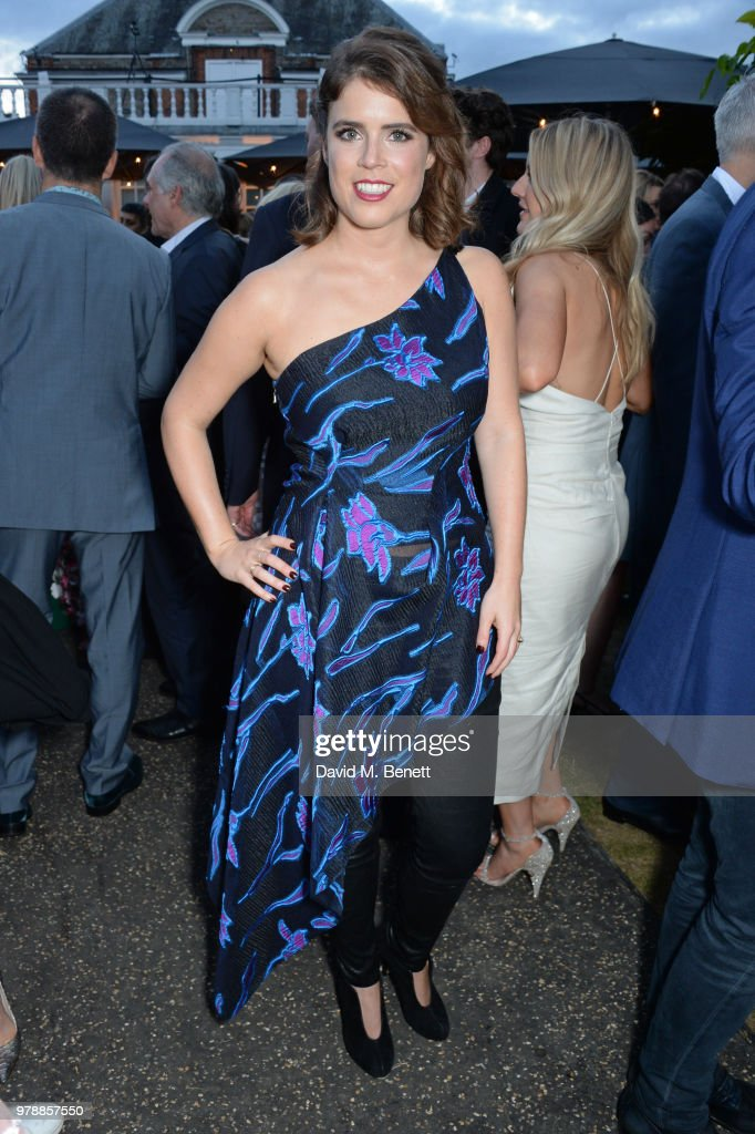 Princess Eugenie of York attends the annual summer party in partnership with Chanel at The Serpentine Pavilion on June 19, 2018 in London, England.
