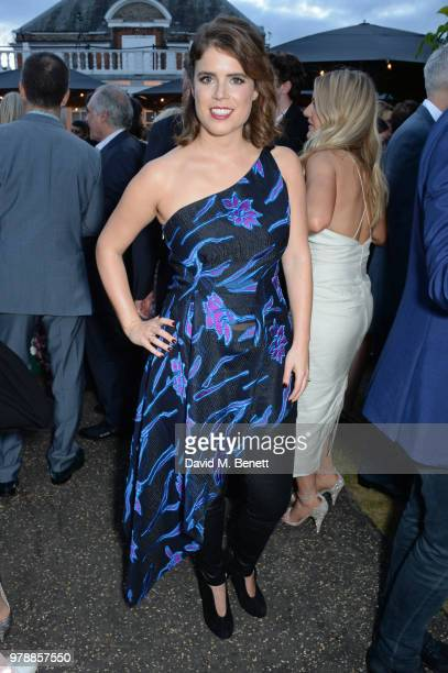 Princess Eugenie of York attends the annual summer party in partnership with Chanel at The Serpentine Pavilion on June 19 2018 in London England