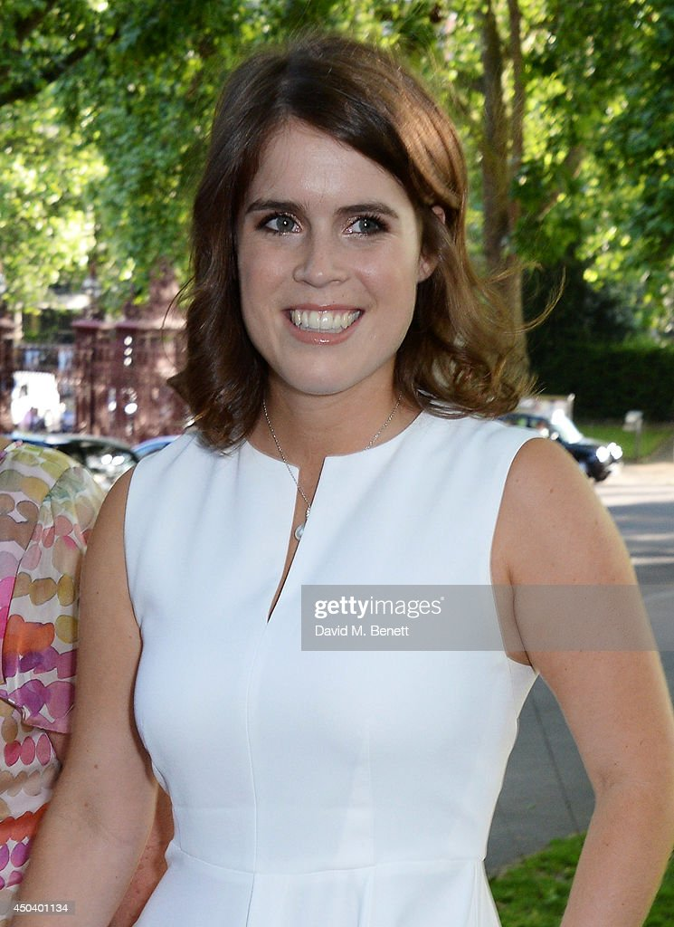Princess Eugenie of York attends the Art Antiques London Gala Evening in aid of Children In Crisis at Kensington Gardens on June 10, 2014 in London, England.