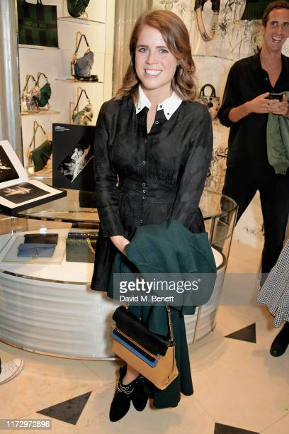Princess Eugenie of York attends the Dior Sessions book launch on October 01, 2019 in London, England.