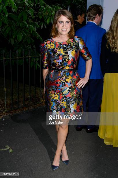 Princess Eugenie of York attends The Serpentine Galleries Summer Party at The Serpentine Gallery on June 28 2017 in London England