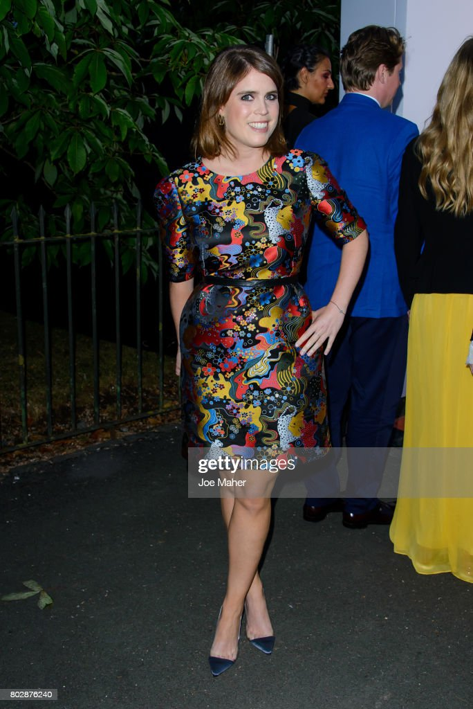 Princess Eugenie of York attends The Serpentine Galleries Summer Party at The Serpentine Gallery on June 28, 2017 in London, England.